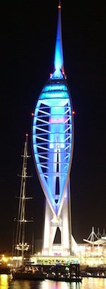 Spinnaker tower backs Blue September