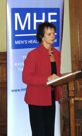 Ann Milton at the All Party Group on Men's Health