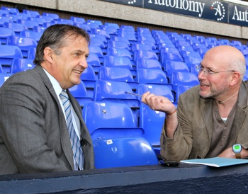 Jim Pollard tries and fails to be cool about interviewing Gary Mabbutt